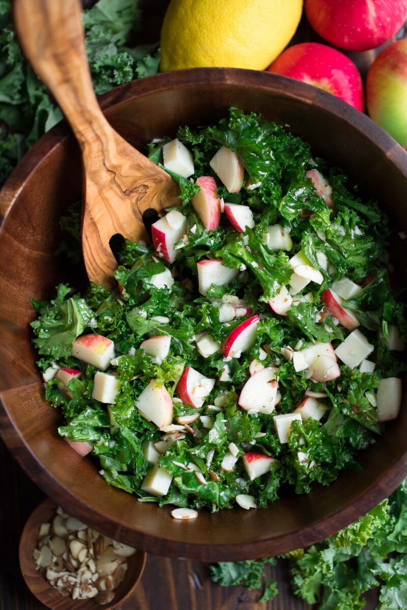 Apple Kale Salad Bowl