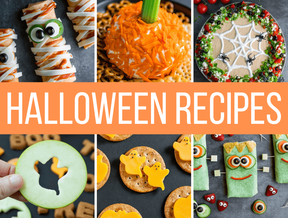 Easy Halloween Recipes Collage