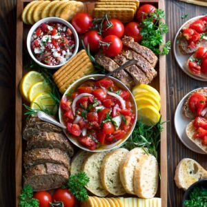 Easy Bruschetta Board