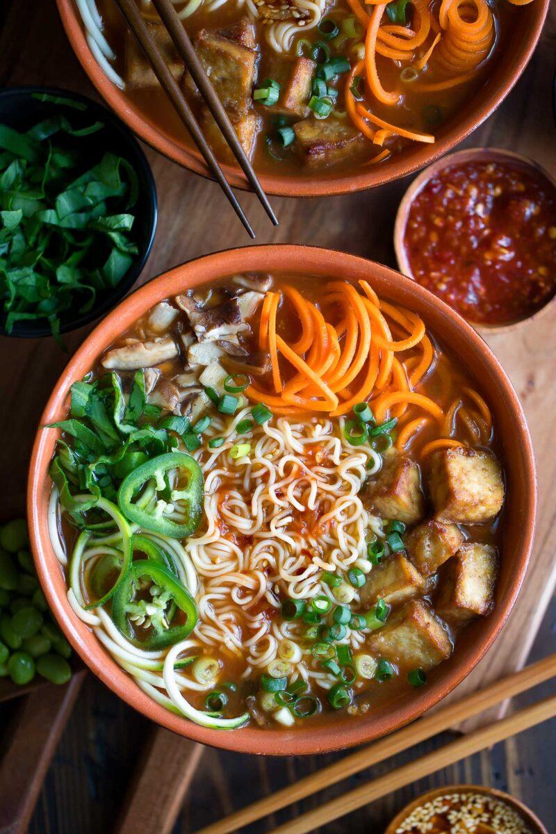 Tofu Ramen Bowls