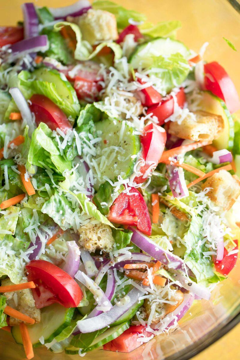 Simple Side Salad Recipe