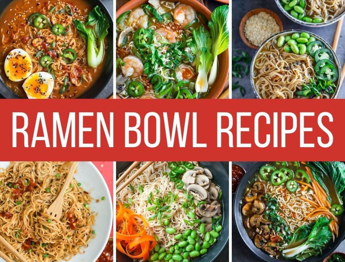 Homemade Ramen Bowl Recipes