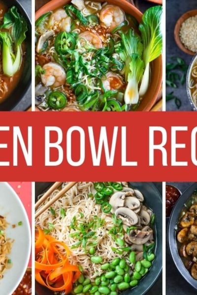 Homemade Ramen Bowl Recipes