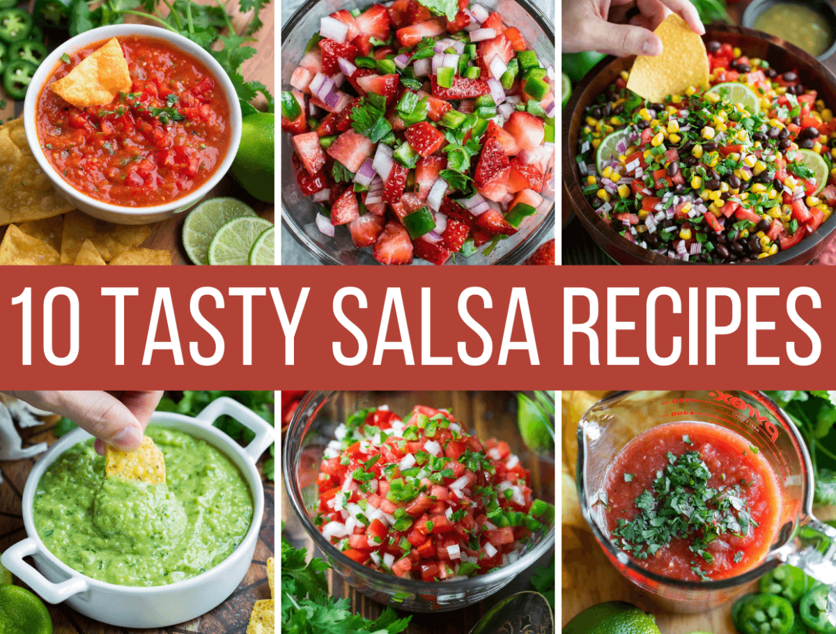 Collage of Salsa Recipes