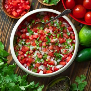 Pico de Gallo Fresh Salsa Recipe