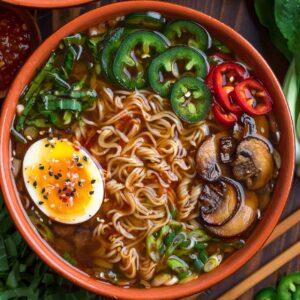Veggie Ramen Soup