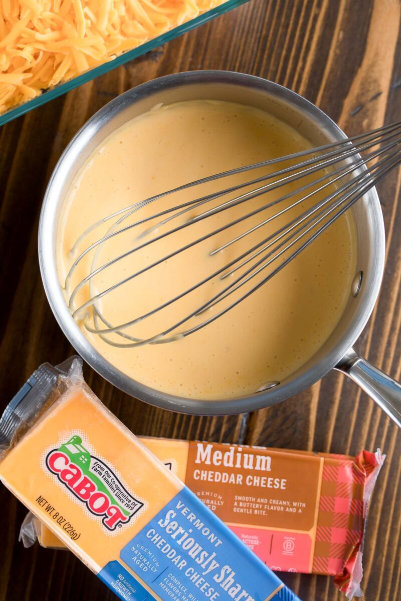 Nacho Cheese Sauce for Totchos