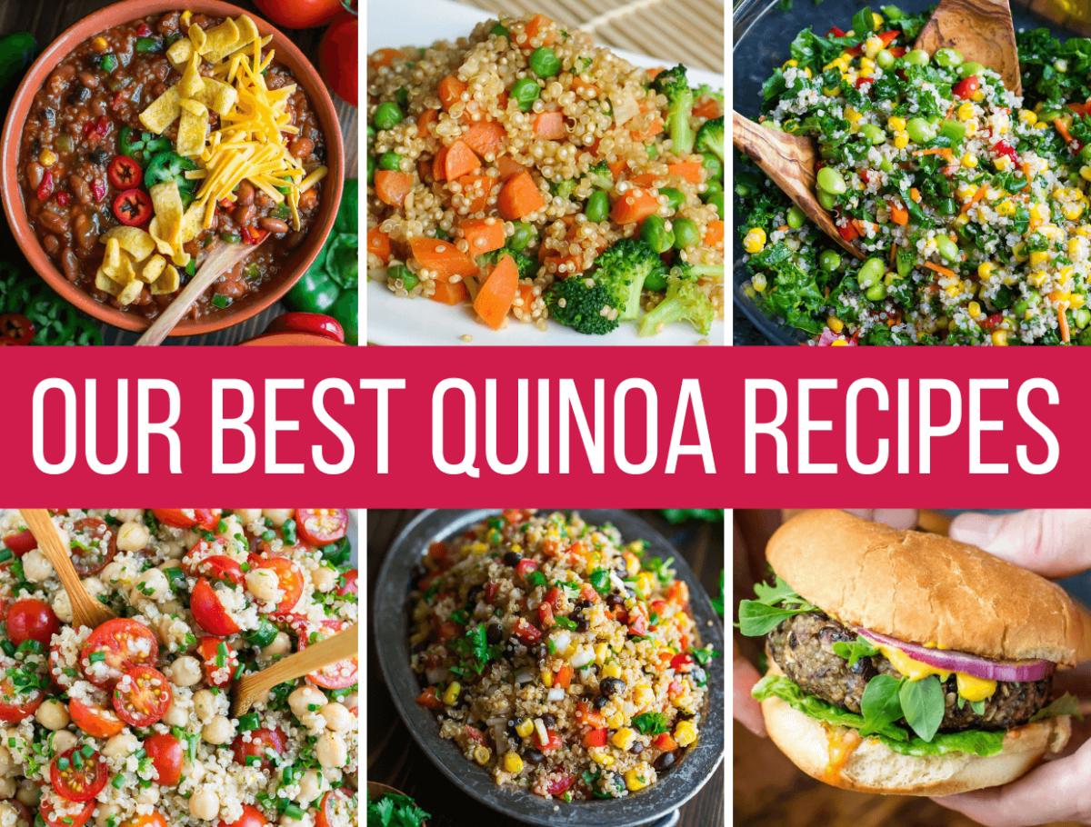Our Best Quinoa Recipes Photo Collage